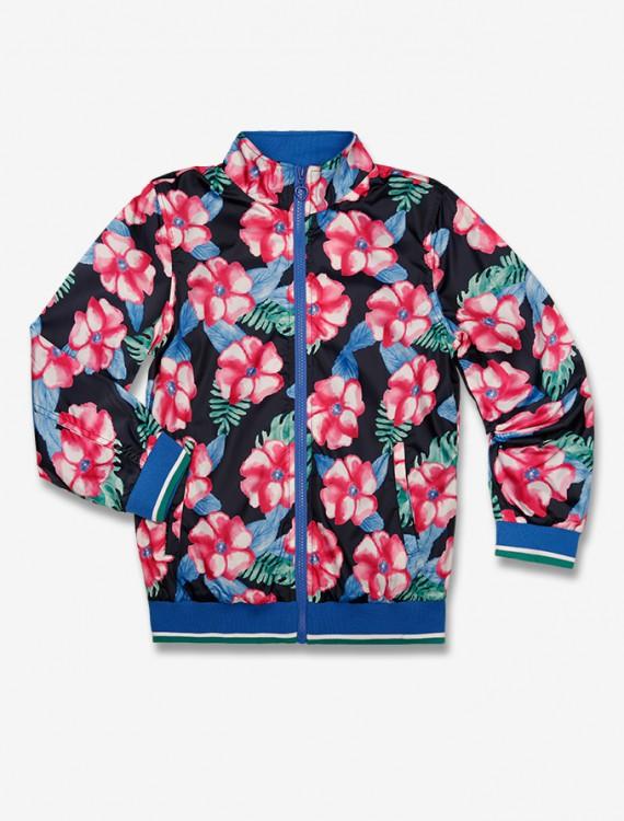 Куртка с цветочным принтом Глория Джинс Интернет