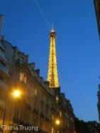 As we near the Eiffel Tower