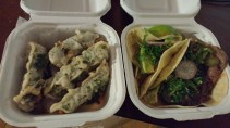 El Camino - Tacos and Crispy Prawns Betel Leaf