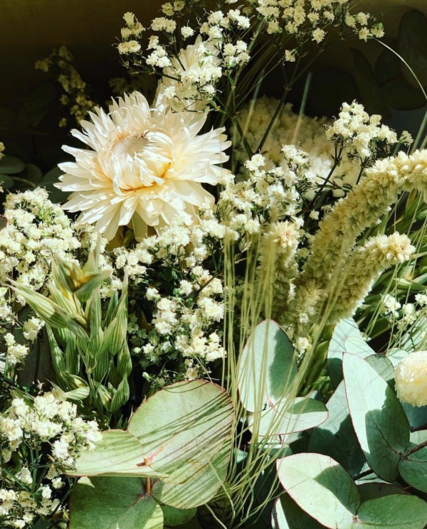 bouquet fleurs sechees pimpantes