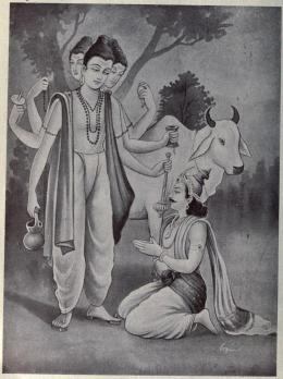 Dattatreya blesses Kartavirya Arjuna and grants him boons