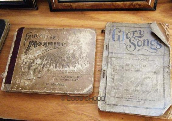 Hymnal Books From the Oliver Nestus Freeman Round House Museum