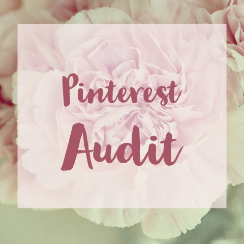 Pinterest Audit: Want to up your Pinterest game? Let me analyze your Pinterest account including your pins, profile, blog, and pinning behavior, and I will provide an evaluation and recommendations to start expanding your influence on Pinterest. Click here to get yours.