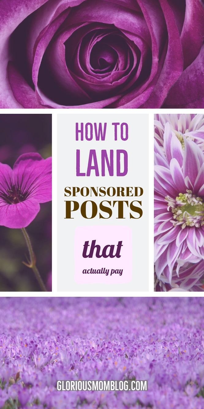 How to land sponsored posts that actually pay: tired of doing posts for only product? Influential Mama is a course by a pro influencer that every blogger should take to increase their blog income. Only $19, you get 10% off with my code GMB10.  Read my review of the course at gloriousmomblog.com.