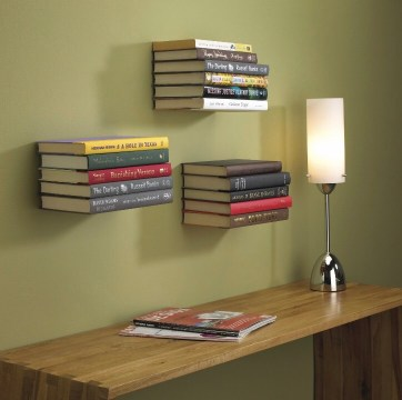 Add a little mystique to Father's Day this year with this floating bookcase! The perfect unique gift your dad doesn't need, but probably wants.