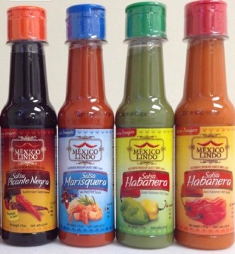 If your man likes to spice things up, have him try some gourmet Mexican hot sauce, in four different flavors. Also an easy way to add extra flavor to some dishes!