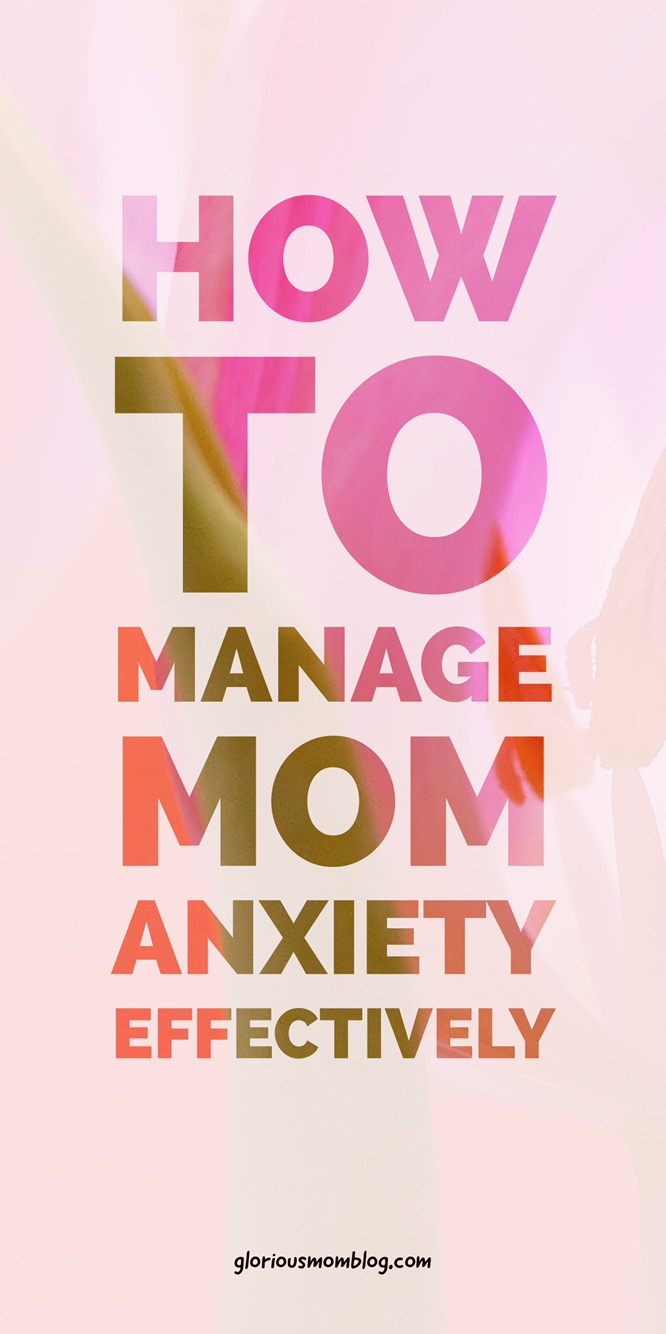 6 ways to manage stress as a stay-at-home mom: read my tips for combating parenting anxiety and finding stress relief while taking care of your kids. Read it at gloriousmomblog.com.