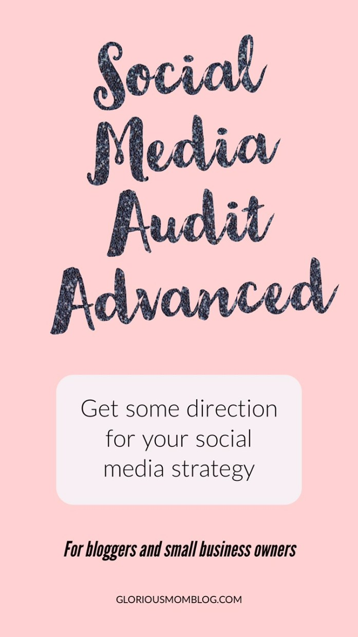 With the Social Media Audit Advanced, I will give you my Social Media Growth Guide, 8-10 steps you can take to improve your social media presence, plus I will make you a model social media post for all your platforms.