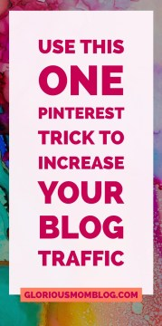 How to use the power of the Pinterest metric to increase traffic to your blog: check out my blogging tips, Pinterest tips, and social media strategy at gloriousmomblog.com.
