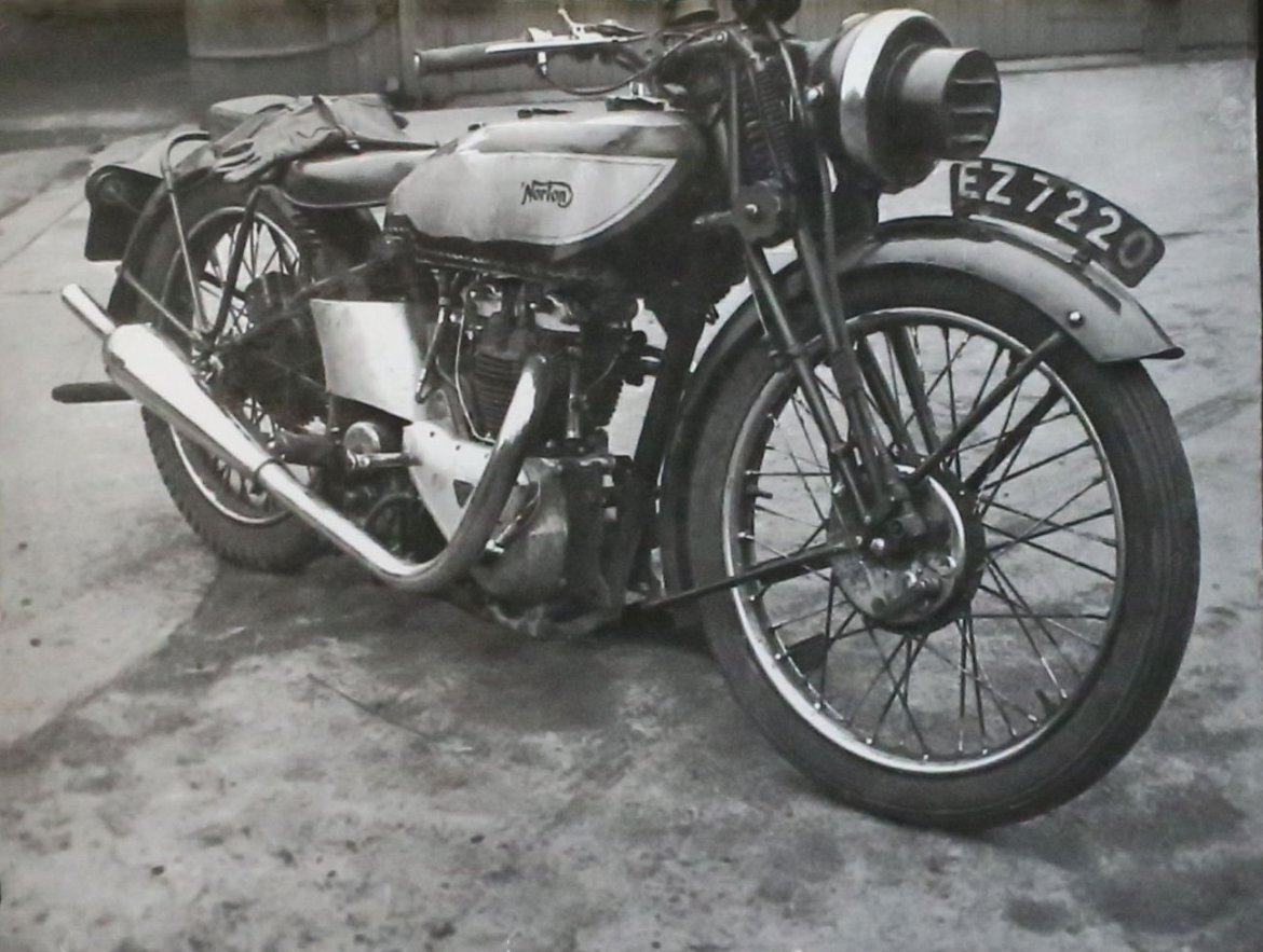 A mid-30's Norton International rigid frame was the gold standard of pre-War handling