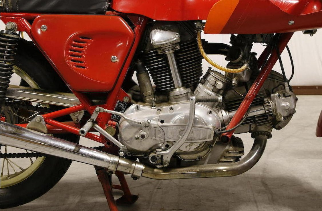 green frame example for sale: 1974 ducati 750ss - glorious motorcycles