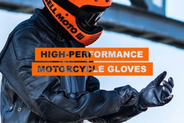high-performance motorcycle gloves