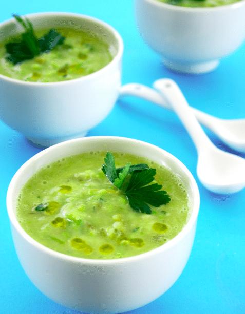 Cream of Fresh Asparagus Soup Recipe