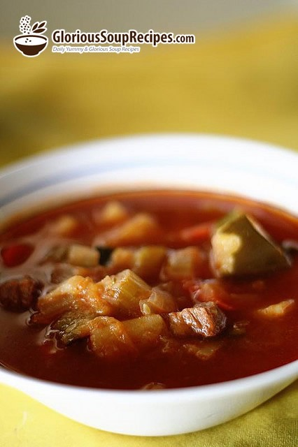 Slow Cooker Veggie-Beef Soup with Okra Recipe