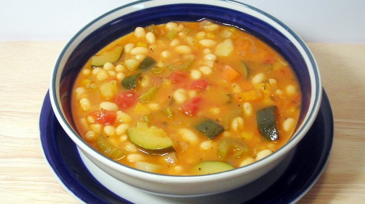 How To Make Swanson(r) Winter Vegetable Bean Soup with Pesto