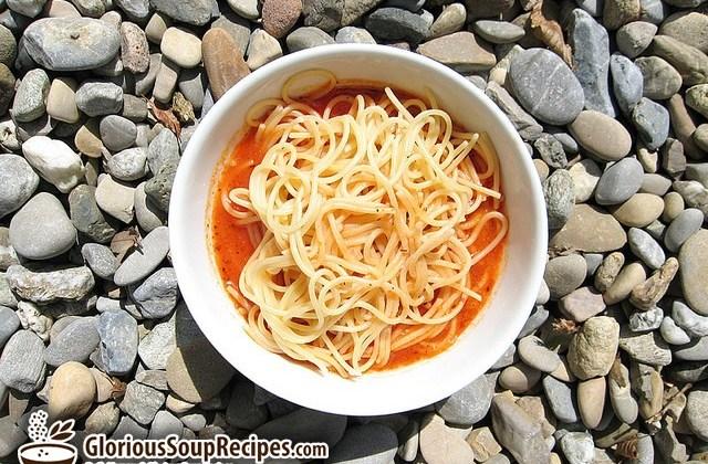 My Mum's Spaghetti Soup