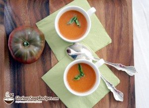 Recipe For Cream of Fresh Tomato Soup