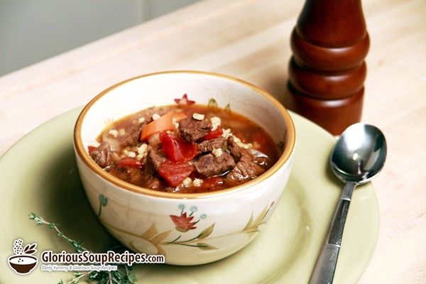 how to make beef soup