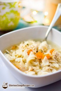 Recipe For Hearty Homemade Chicken Noodle Soup Express