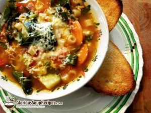 How To Make Ken's Minestrone Soup