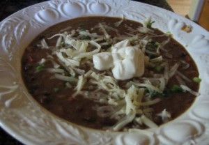 Brazilian Black Bean Soup recipe