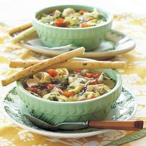Chicken Tortellini Soup recipe