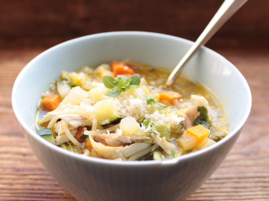 How To Make Chicken Soup II