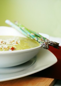 Recipe For Chicken and Asparagus in Cream Soup