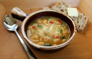 Ham and Lima Bean Soup Recipe