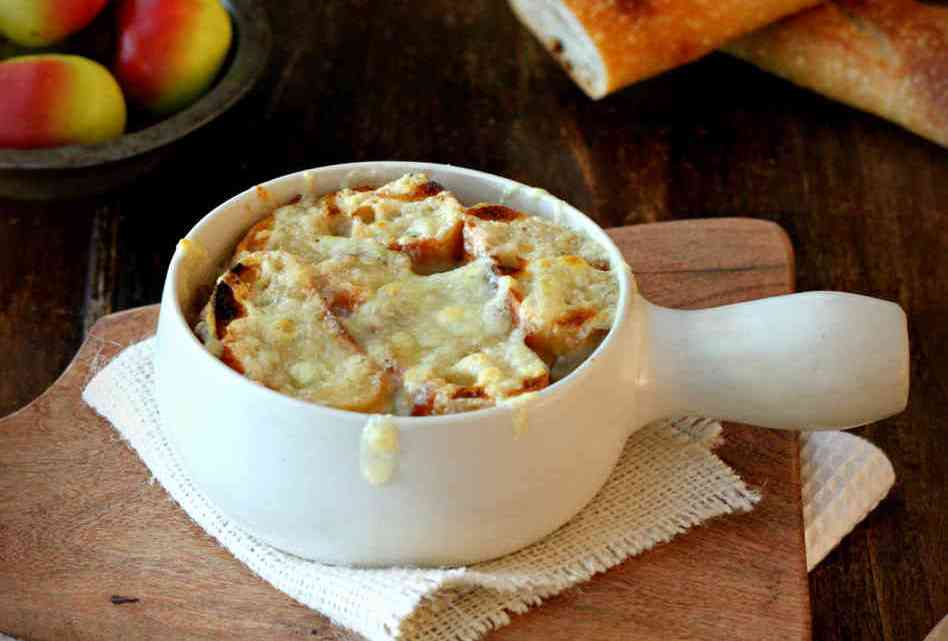 How To Make French Onion Soup Gratinee