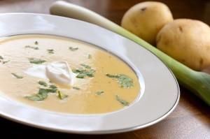 How To Make Potato Leek Soup I