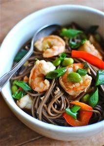 How To Make Oriental Shrimp Noodle Soup