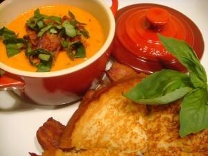 ViVi's Bacon and Tomato Soup Recipe
