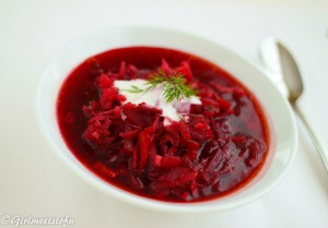Ukrainian Sweet and Sour Cabbage Soup