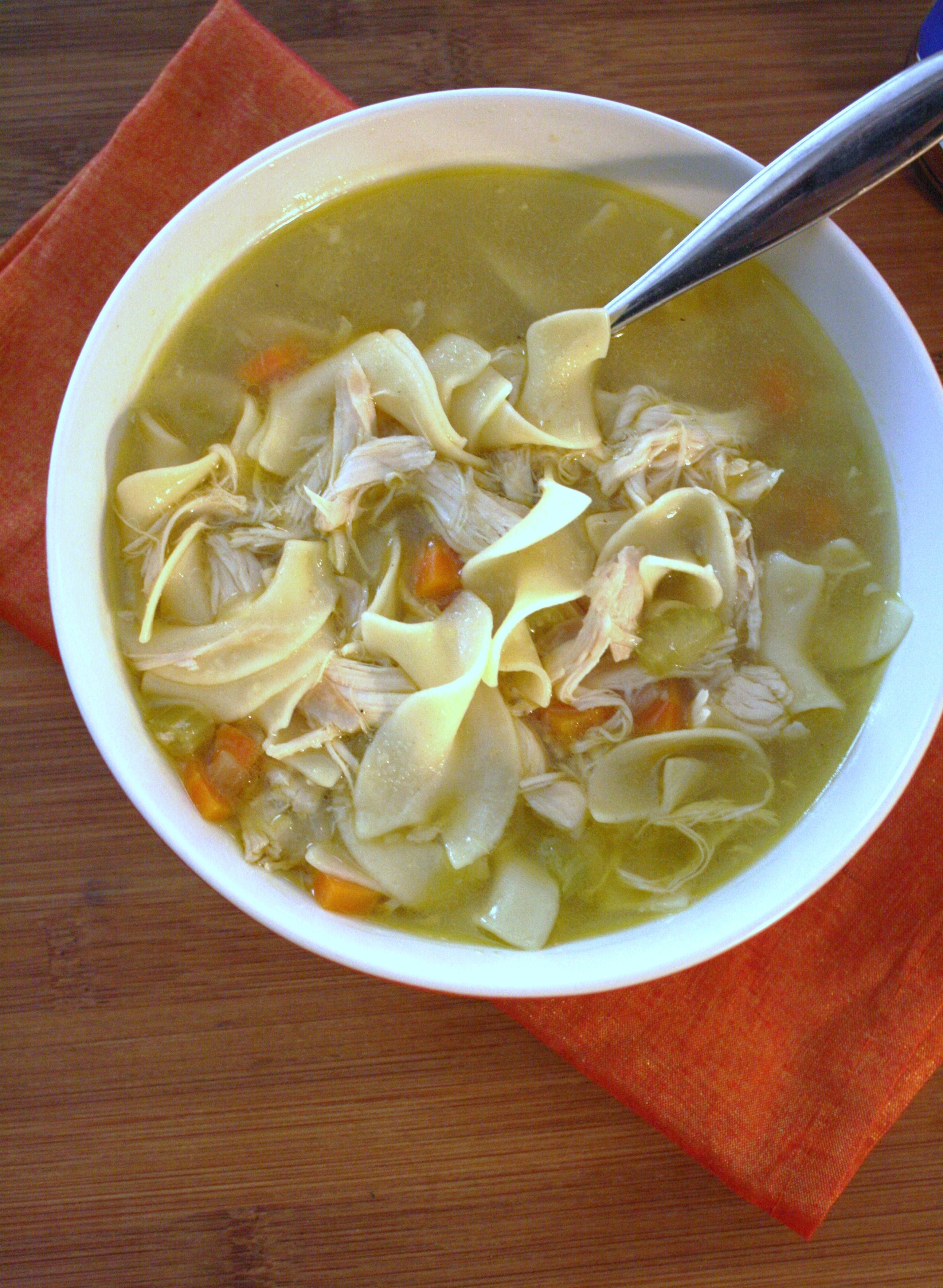 How to make chicken noodle soup ii glorious soup recipes for How to cook chicken for chicken noodle soup