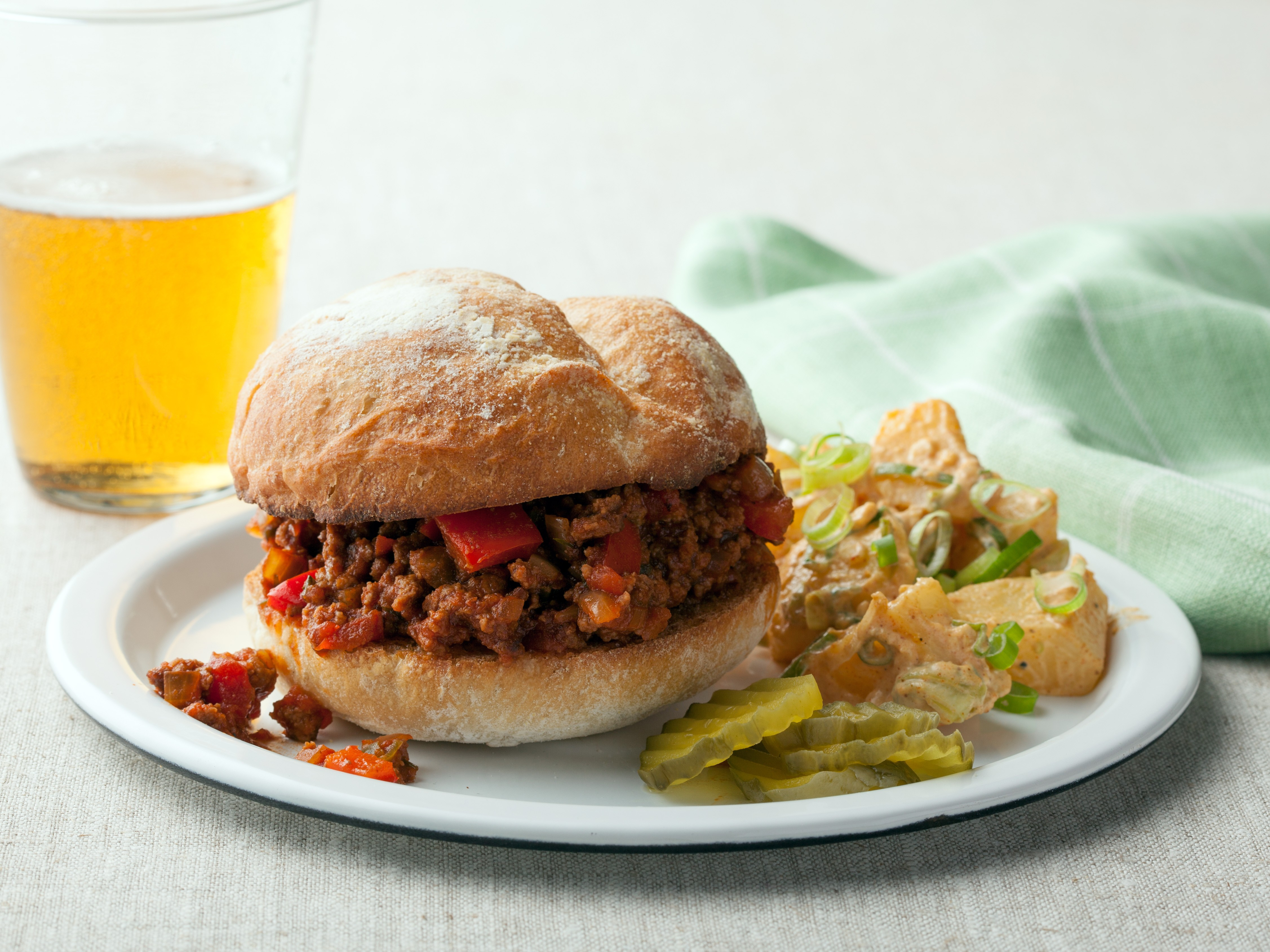 Recipe For Campbell s Kitchen Souper Sloppy Joes Glorious Soup