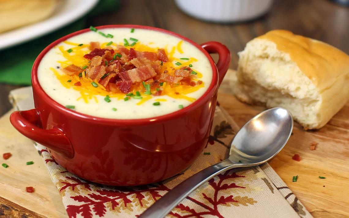 Recipe For Baked Potato Soup V