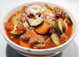 Image courtesy: Chicken Tortellini Soup With Zucchini and Tomatoes