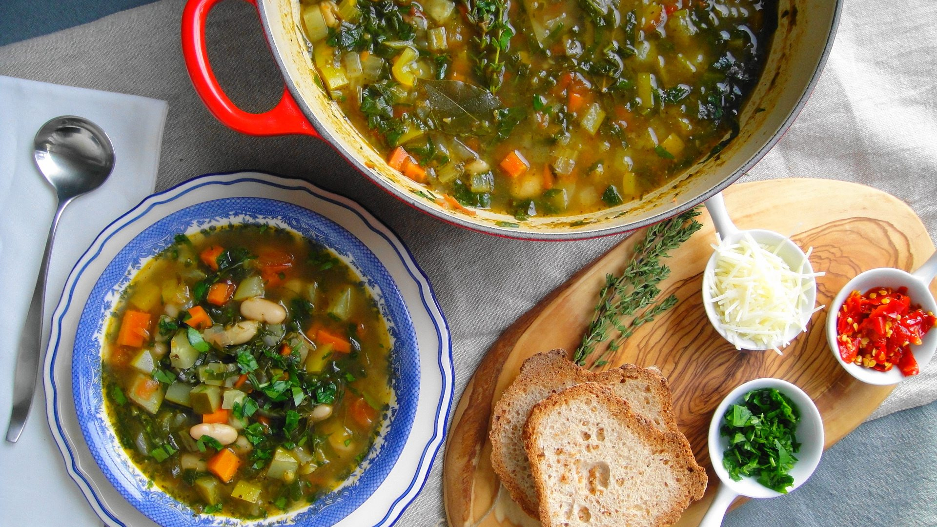 Quick Italian Vegetable Soup : Glorious Soup Recipes