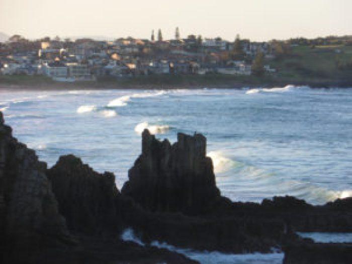 Cathedral rocks on the Kiama coastal walk