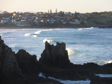 Cathedral rocks on the Kiama coastal walk