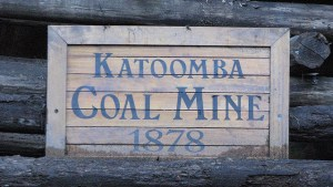 Blue mountains katoomba coal mine