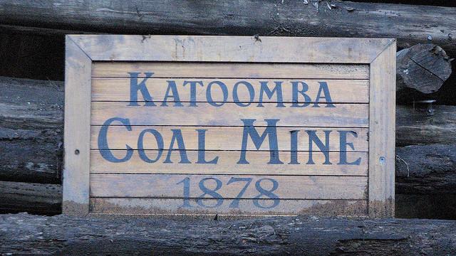 Blue mountains katoomba coal mine