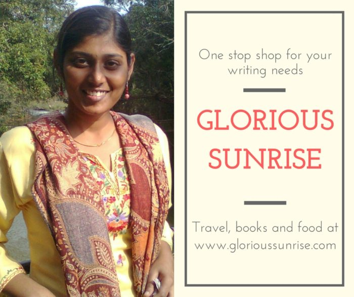 Glorious Sunrise Priyadarshini Rajendran