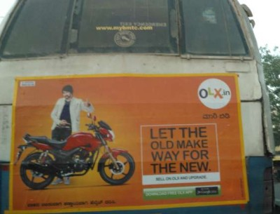 Olx ad - perfect for the bus