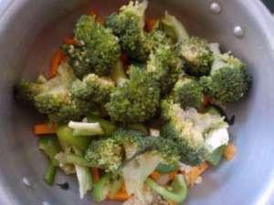 green curry ingredients cut veggies