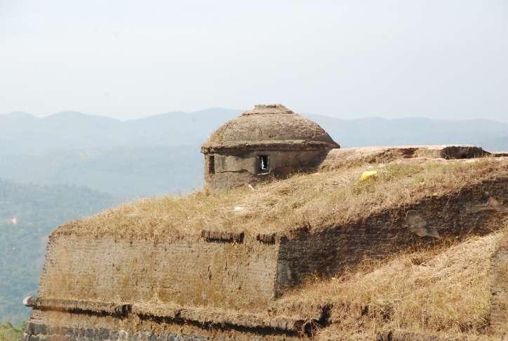Manjarabad fort top
