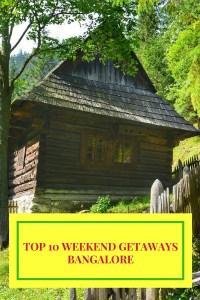 TOP 10 Weekend getaways around Bangalore/Bengaluru