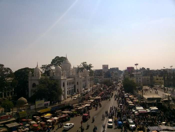 A view from Charminar