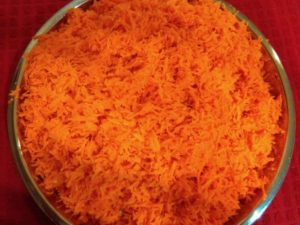 carrots-grated